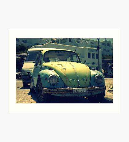Herbie's disowned brother Art Print