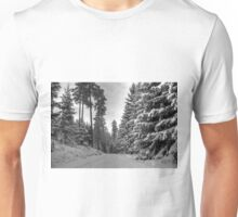 Winter in Forsheda's track II Unisex T-Shirt