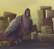 Messenger-pigeon by fictionalfriend