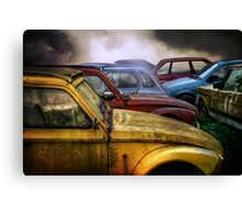 Cars Again Canvas Print