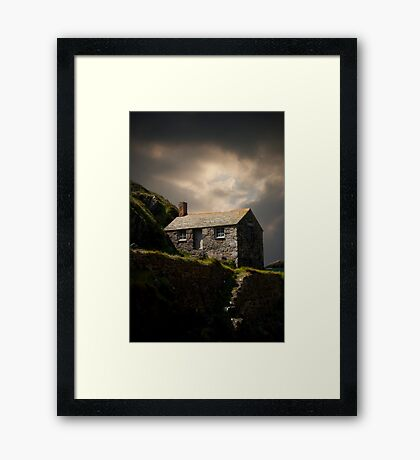 Cove House View Framed Print