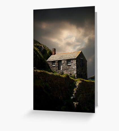 Cove House View Greeting Card