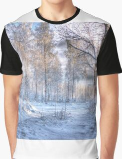 Winter in Forsheda's track I Graphic T-Shirt