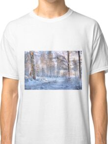 Winter in Forsheda's track I Classic T-Shirt