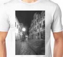 Aveiro by night in B&W (HDR) Unisex T-Shirt