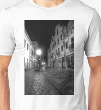 Aveiro by night in B&W (HDR) T-Shirt