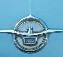1959 Chrysler Imperial Emblem by Jill Reger