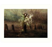 Tied To The Stone!!! Art Print