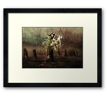 Tied To The Stone!!! Framed Print