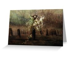 Tied To The Stone!!! Greeting Card