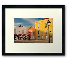Cidadela . Cascais Framed Print