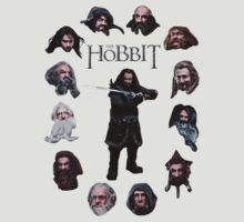 The Hobbit Dwarves by hartmanjameson
