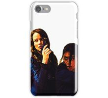 "Person of Interest ""Root & Shaw"" (Re-Color) iPhone Case/Skin"