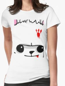 Castle Crashers Bear Face Womens Fitted T-Shirt