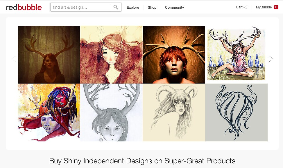 2 July 2012 by The RedBubble Homepage