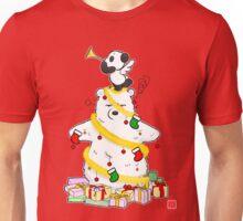 Panda And Polar Bear Christmas Tree Unisex T-Shirt
