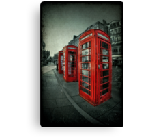 The Call Of Yesteryear Canvas Print