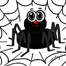 Spinner Spider by artandrhyme