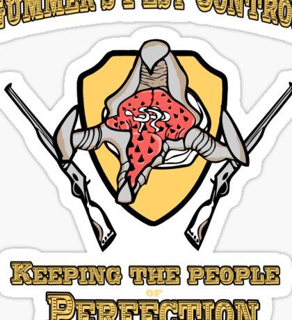 Gummer's Pest Control Sticker