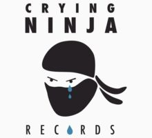 Crying Ninja T-Shirt option A by Crying Ninja