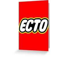 LEGO x ECTO logo v2 Greeting Card