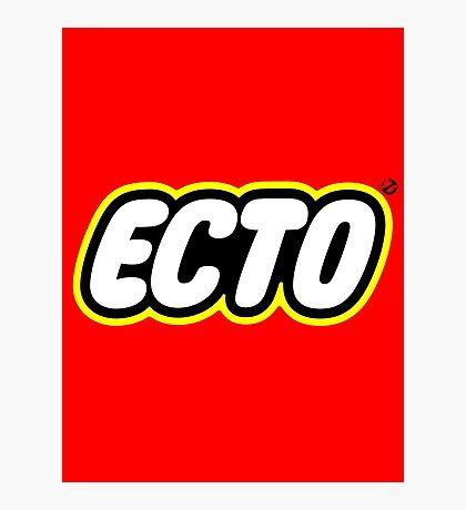 LEGO x ECTO logo v2 Photographic Print