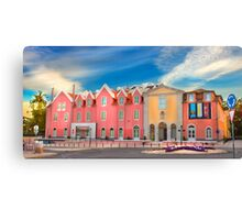 Cascais village Canvas Print