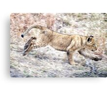 I Can Run ! Canvas Print