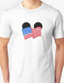 American Flag Ears T-Shirt