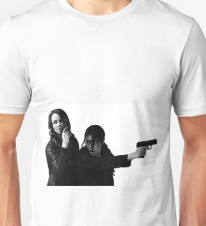 """Person of Interest """"Root & Shaw""""  Unisex T-Shirt"""