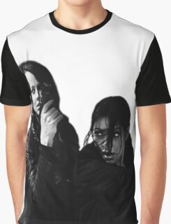 "Person of Interest ""Root & Shaw""  Graphic T-Shirt"