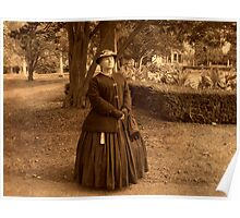 Julia Boggs Dent Grant - Re-enactor Player at Ringwood Manor Poster