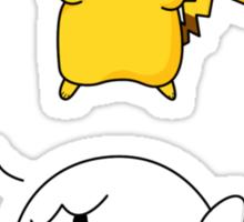 Pika-Boo Sticker