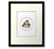 Tropicana Lounge Framed Print