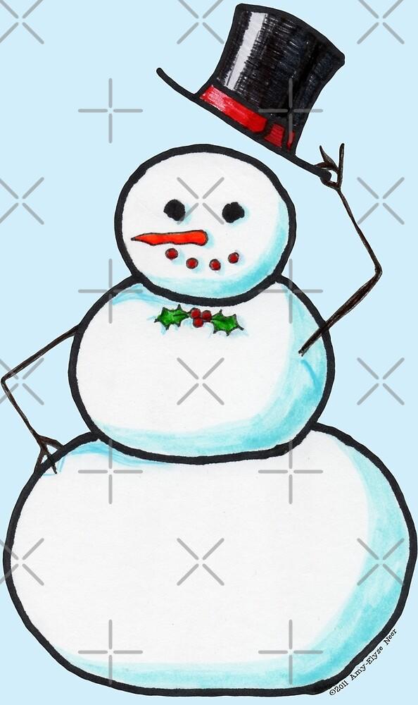 Snow Gentleman by Amy-Elyse Neer