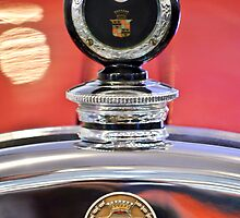 1924 Cadillac Phaeton Hood Ornament and Emblem by Jill Reger