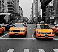 Taxi ranks. by Roger  Mackertich