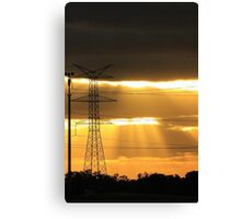 Power Of The Sun Canvas Print