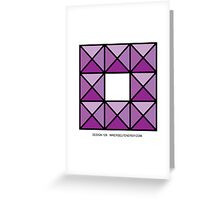 Design 129 Greeting Card