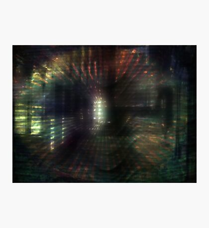 Distorted Vision Photographic Print