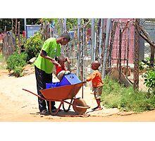 Street Scene, Soweto Photographic Print