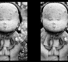 Jizo Statue 3 by WaterGardens