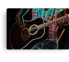 Guitars 1 Canvas Print