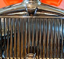1933 Stutz DV-32 Sedan Grille Emblem and Hood Ornament by Jill Reger