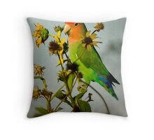 Can You Say Pretty Bird?  Throw Pillow
