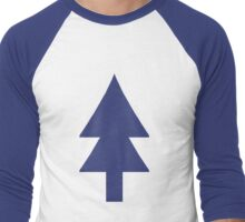 Dipper Pine Tree Men's Baseball ¾ T-Shirt