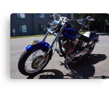 Motorcycle Indian 2001 Canvas Print