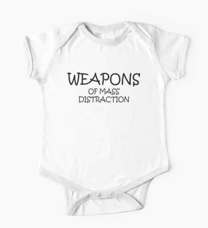 Weapons of Mass Distraction One Piece - Short Sleeve