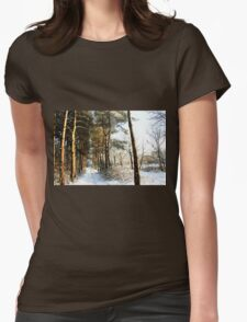 Forest Snow Scene T-Shirt