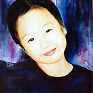 Myong's Daughter Portrait Commission by deborah zaragoza
